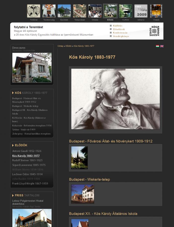 Elődök - Kós Károly 1883-1977